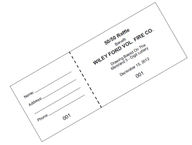 Print Raffle Tickets Custom Printable Raffle Tickets Cheap – Free Ticket Printing
